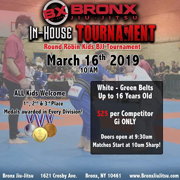 bronx jiu jitsu in house tourn