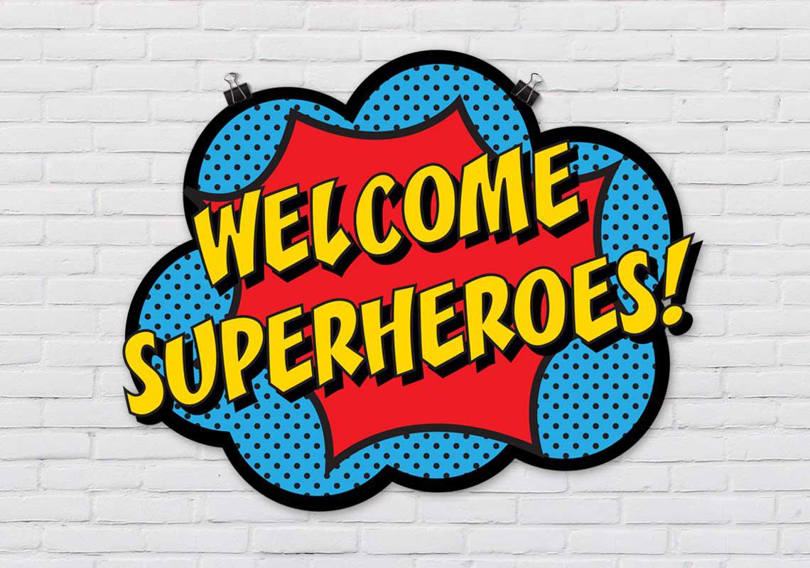 Superhero Week is Gone
