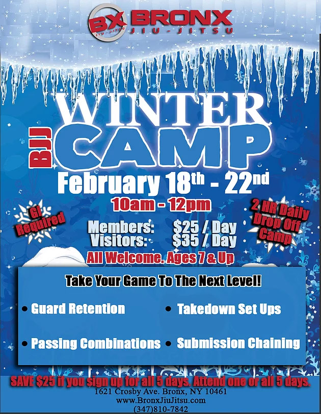 bjj winter camp